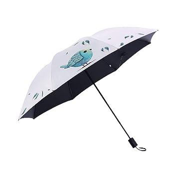 YSKGZ Paraguas Paraguas De Protección Solar para Damas,para ...