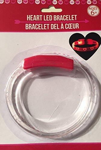 Valentine Heart Led Bracelet