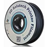 3D Solutech Carbon Fiber 3D Printer Filament,1.75 mm/1.9 lb, Black