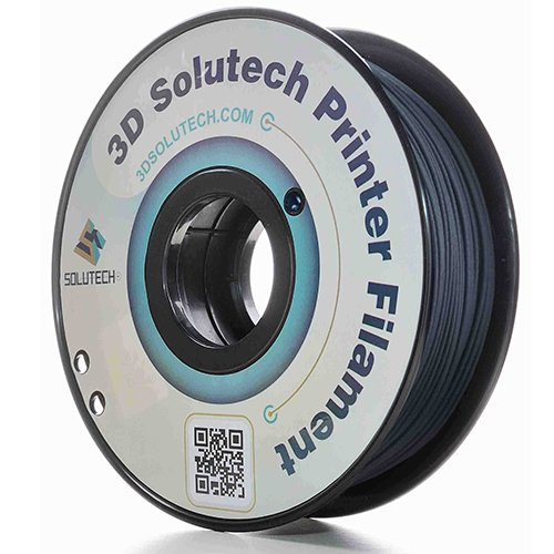3D Solutech Carbon Fiber 3D Printer Filament ,1.75 mm/1.9 lb., Black