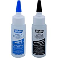 CECCORP C-POXY 30 Two-Part 30-Minute Epoxy Adhesive - Recommended for Bonding Metal, Ceramics, Stone, Glass, Concrete…