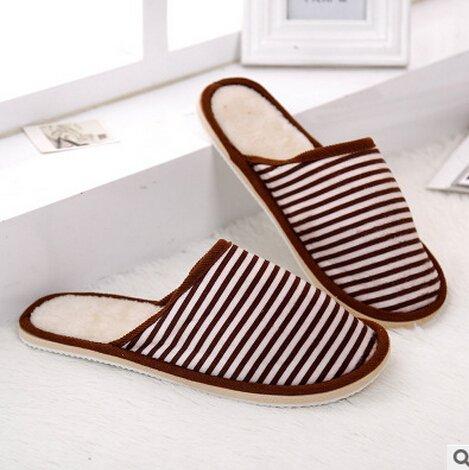 Pantofole Da Mulo Unisex Sodacoda Fodera In Pelliccia Sintetica Accogliente (caffè 42-43)