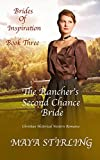 #7: The Rancher's Second Chance Bride (Christian Historical Western Romance) (Brides of Inspiration series Book 3)