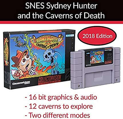 Amazon com: 2018 SNES Sydney Hunter and The Caverns of Death