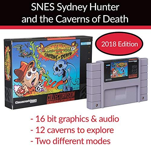 Amazon com: 2018 SNES Sydney Hunter and The Caverns of Death by