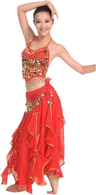 Grouptap Bollywood Rosa roja asiática India jazmín árabe Vestido ...