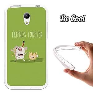 Becool® - Funda Gel Flexible para Hisense D2 .Carcasa TPU fabricada con la mejor Silicona protege, se adapta a la perfección a tu Smartphone y con nuestro diseño exclusivo