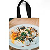 Westlake Art - Lunch La - Tote Bag - Picture Photography Shopping Gym Work - 16x16 Inch (D41D8)