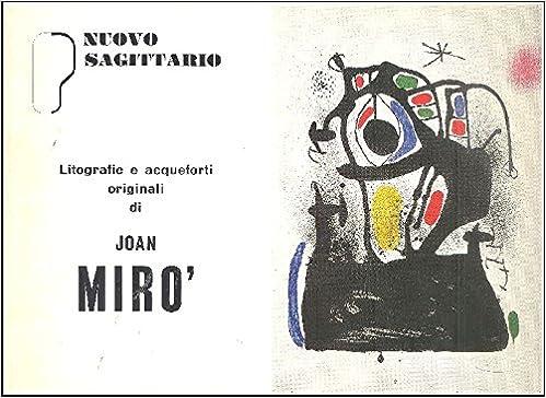 Amazon.com: Litografie e acqueforti originali di Joan Mirò ...