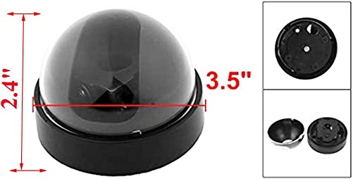 Yohii Fakes Dummy Security Camera Cover, 3.5 Dia Indoor Outdoor CCTV Dome Cover Camera Housing Case