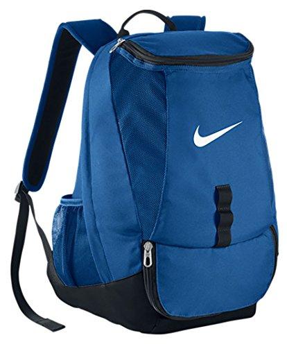 Nike Football Fan Gear (Nike Club Team Swoosh Backpack [VARSITY ROYAL/BLACK/WHITE] (OS))