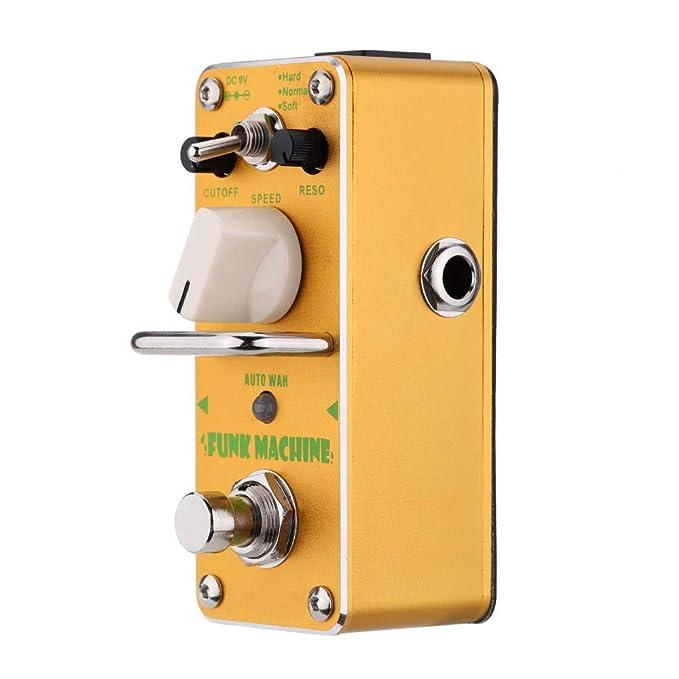 AFK-3 Funk Machine Auto Wah - Pedal de efecto de guitarra eléctrica: Amazon.es: Instrumentos musicales
