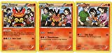 Evolution Set - EMBOAR PIGNITE TEPIG - 27/113 - Legendary Treasures - Rare Card LOT