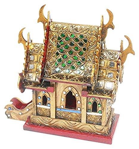 CONSERVE Thailand : Spirit House Large Thai Handmade for sale  Delivered anywhere in USA