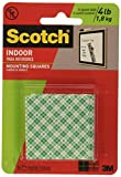 Scótch 3M Scotch, 1 Inch Square, White