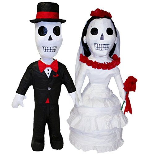 [Day of the Dead Wedding Couple Pinata, 32