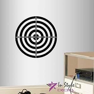 wall vinyl decal home decor art sticker darts target kids bedroom living room