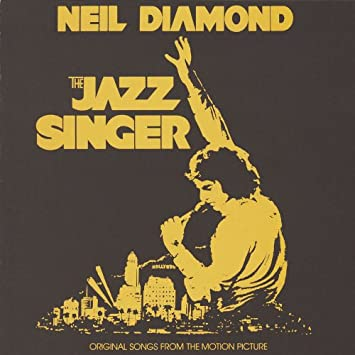 Jazz singer 1980 emi film with neil diamond and lucie arnaz stock.