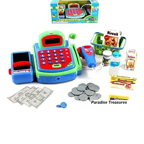 electronic cash register toy scanner