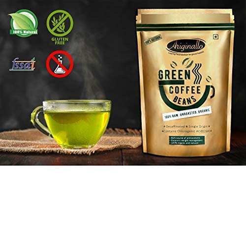 Ariginallo Green Coffee Beans for Weight Loss - 350 G by SIPL