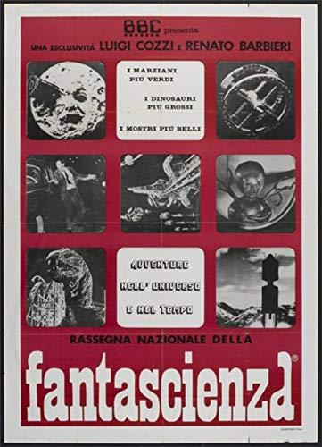 SCIENCE FICTION FILM FESTIVAL 39″x55″ Original Italian Movie Poster – Folio Rare