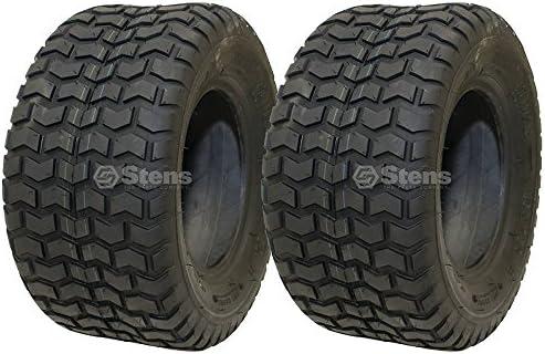 2 Neumáticos Kenda 16 x 7, 50 - 8 Césped Rider Tread 2 capas de ...