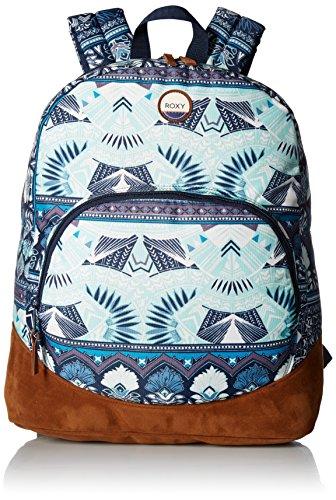 - Roxy Women's Fairness Printed Backpack, Dress Blue Ax Hippie Hop Border
