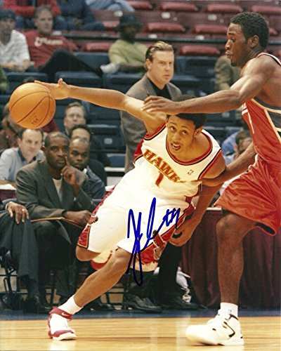 JOSH CHILDRESS ATLANTA HAWKS SIGNED AUTO 8x10 PHOTO (Josh Childress Atlanta Hawks)