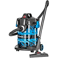 Bissell 2035A Power Clean Wet/Dry Garage Vacuum Cleaner (Blue)