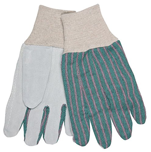 Memphis 1042 - Economy Leather Palm Work Glove with Knit Wrist, Size- Womens/Small, Sold by the Dozen Pairs. by Memphis