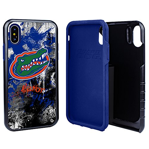 on Designs Spirit Hybrid Case for iPhone X with Guard Glass Screen Protector ()