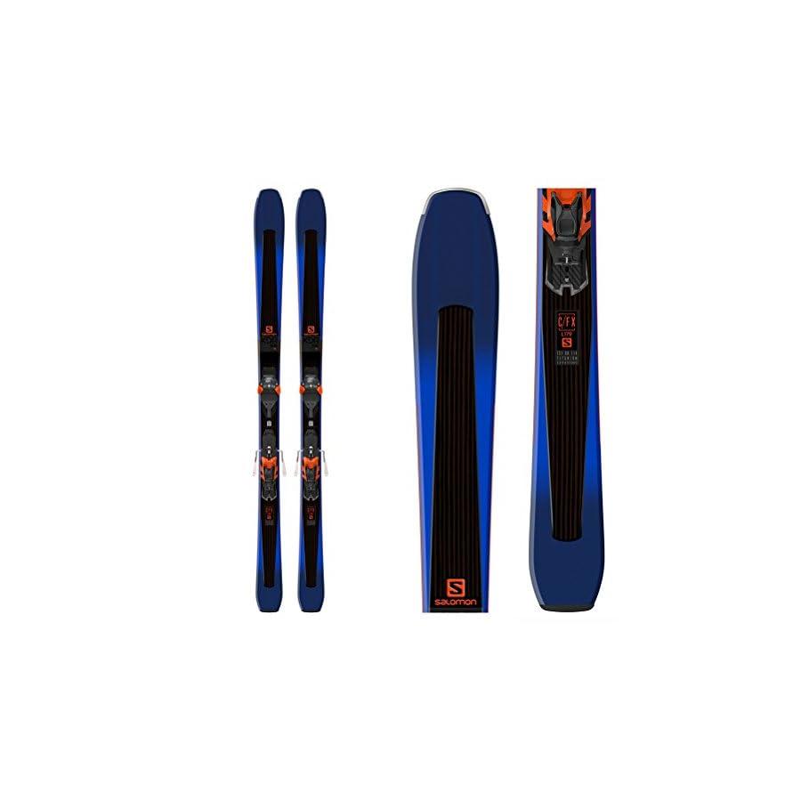 Salomon XDR 88 Ti Skis with Warden MNC 13 Bindings