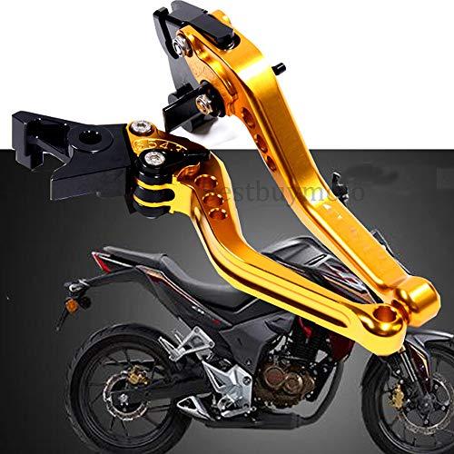 Amazon.com: Adjustable Motorcycle Brake Clutch Levers For ...