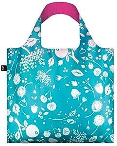 LOQI Seed Teal Reusable Shopping Bag