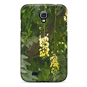 Fashion Protective Flowering Plants Case Cover For Galaxy S4