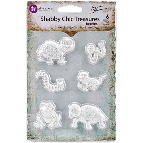 (Prima Marketing Shabby Chic Treasures Resin-Reptiles)