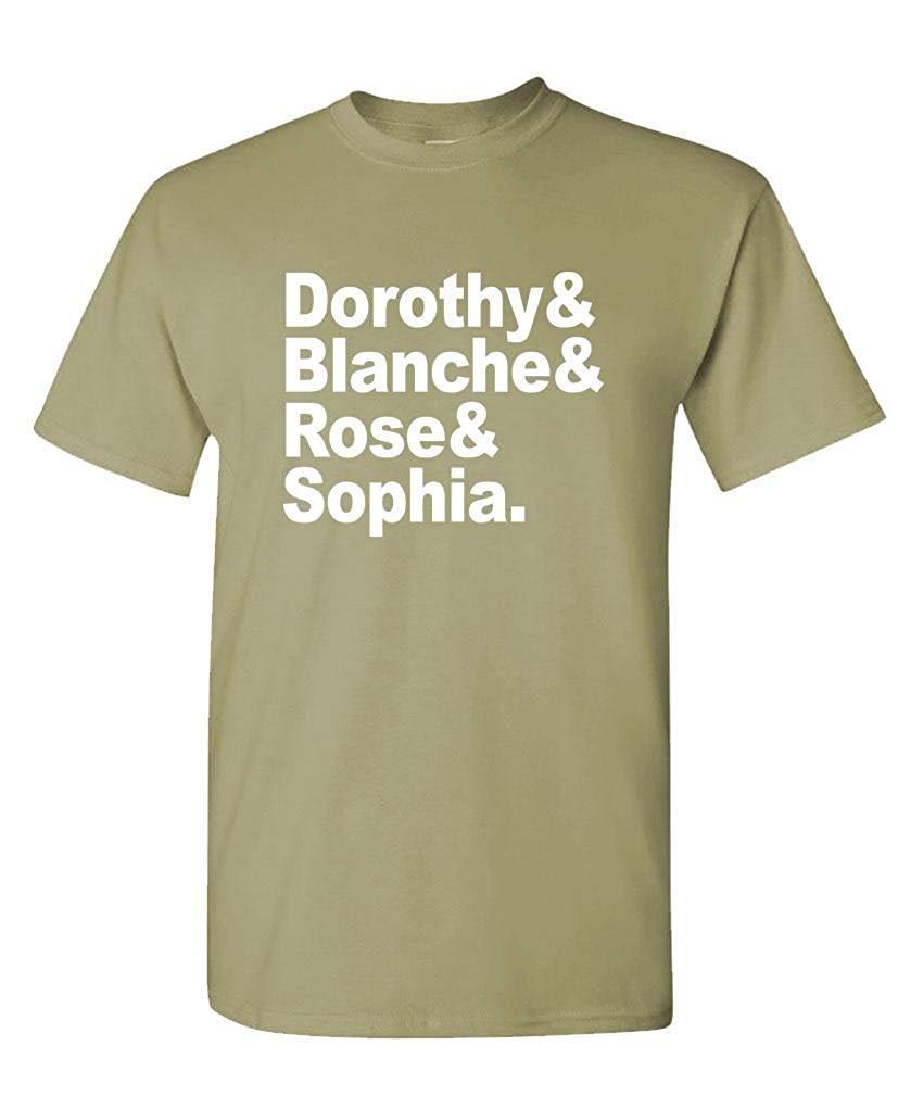Golden Girls Names Funny Retro 80 S Tv S T Shirt 1418