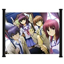 Angel Beats Anime Fabric Wall Scroll Poster (23x16) Inches