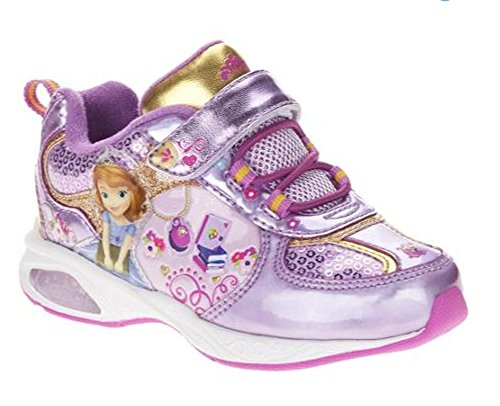 Disney Sofia the First Light Up Sneakers (size 9)