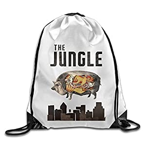 Bekey The Jungle Drawstring Backpack Sport Bag For Men & Women For Home Travel Storage Use Gym Traveling Shopping Sport Yoga Running