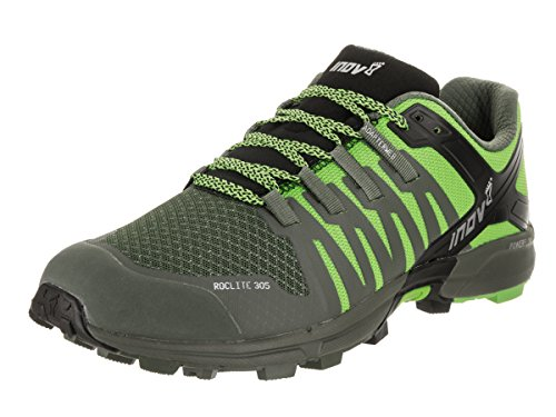 INOV-8 Roclite 305 Mens Trail Running Shoes Green/Black