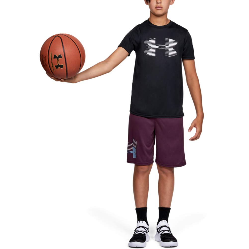 Under Armour Boys' Tech Big Logo Solid T-Shirt