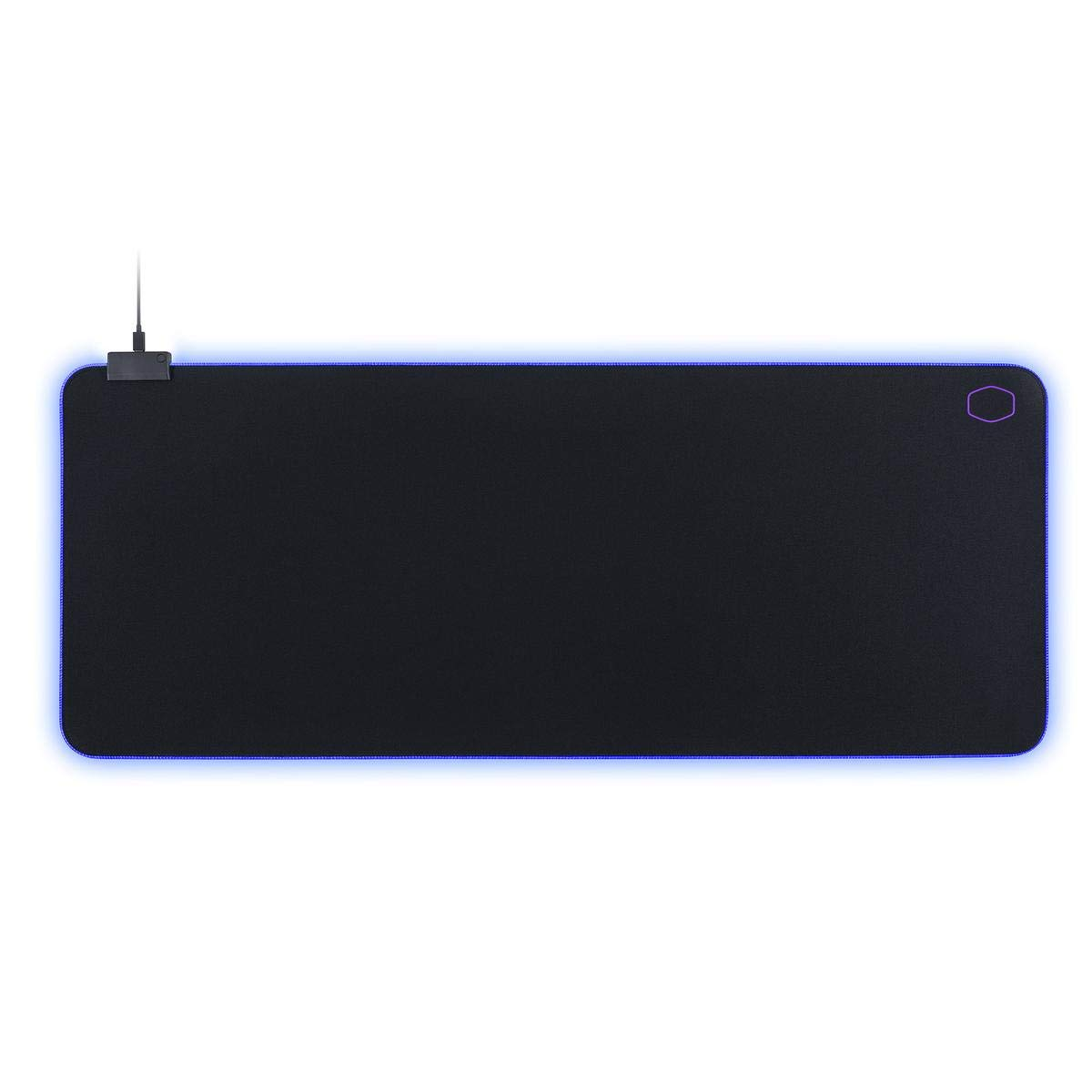 Cooler Master MasterAccessory MP750 XL Soft Mouse Pad with Water Resistant Surface and Thick RGB Borders