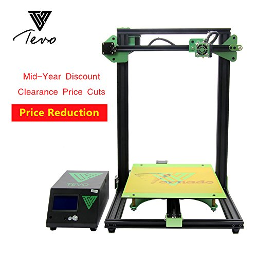 Hariier 2018 TEVO Tornado 3D Printer Fully Assembled Aluminium Extrusion 3D Printing Machine Impresora 3D High Precision Titan Extruder