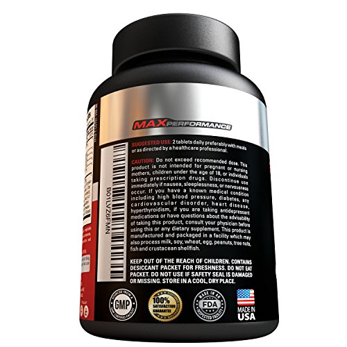 Natural Premium Testosterone Booster For Men, Vitality & Muscle Growth For Increased Strength, Testosterone Booster Supplement, Enhance Libido & Energy