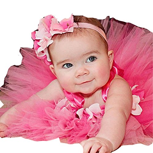 Moon Kitty Baby Girls TuTu Dress Hand-made Cute Infant Dress