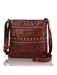 Angel Barcelo Crossover Purse and Handbags Crossbody Bags for Women,Ultra Soft Leather Neatpack Bag Shoulder Purses for Girl