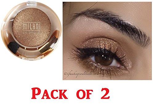 Milani Runway Eyeshadow, 03 Bronze Doll (2 Pack)