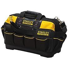 STANLEY FATMAX 518150M 18-Inch Tool Bag, Black/Yellow