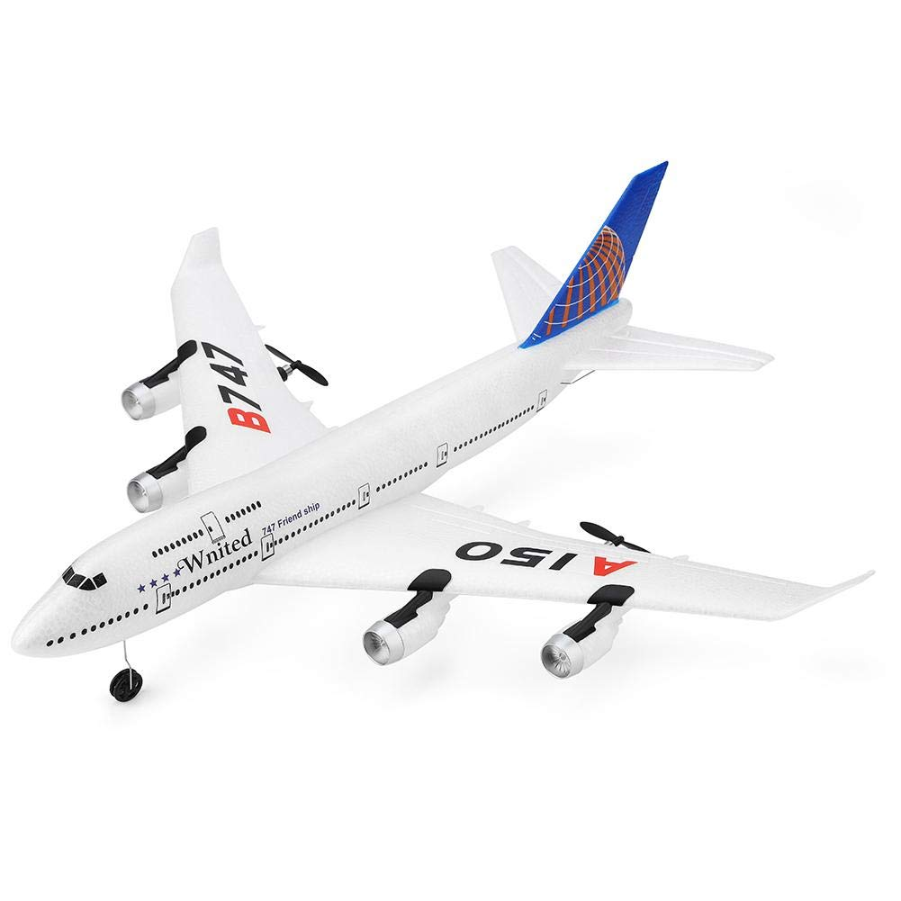 SHZONS Remote Control Aircraft, XKA150 3CH RC Airplane Boeing B747 Model Fixed Wing EPP Remote Control Aircraft